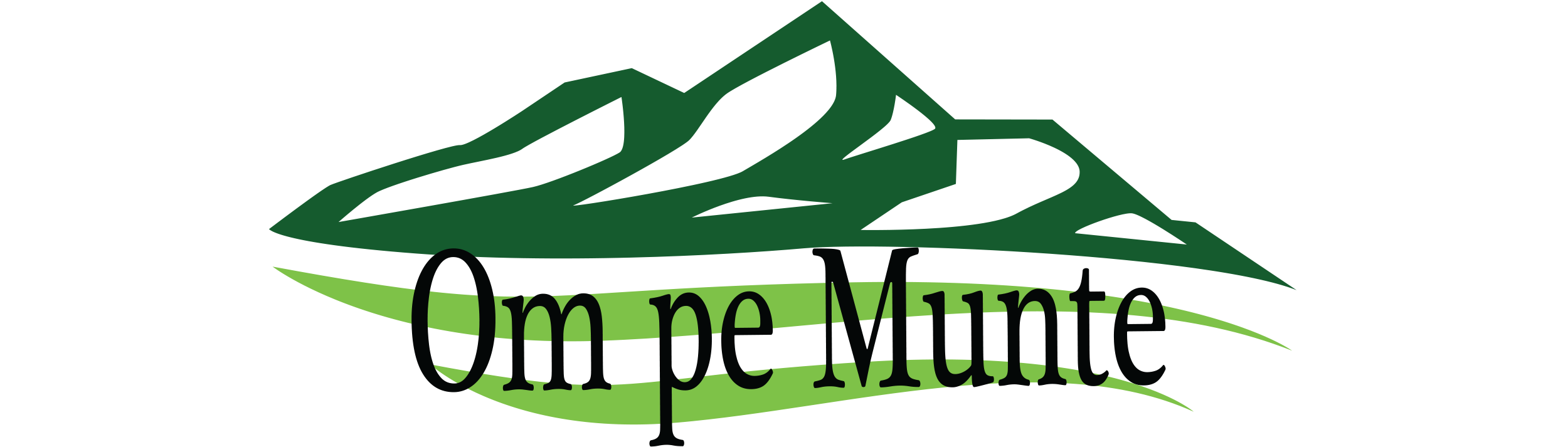 Om pe munte
