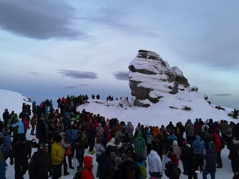 Salvatorii montani au fost la datorie, ca de fiecare dată, și de Ziua Sfinxului. Ziua Sfinxului s-a încheiat fără evenimente neplăcute.