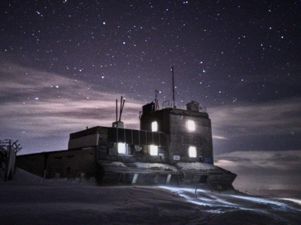 Stația meteorologică 2507 m